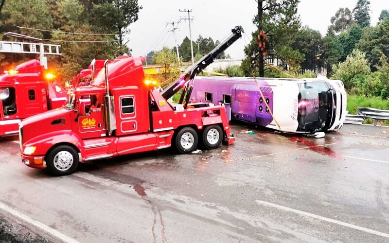 Accidente en la autopista México-Toluca (VIDEO) – Entérate de los que ocurrió